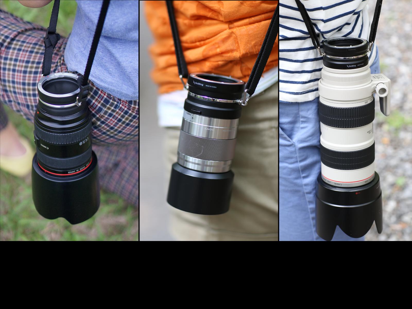 GoWing – Suporte para lentes de câmera DSLR 43a13b7d24